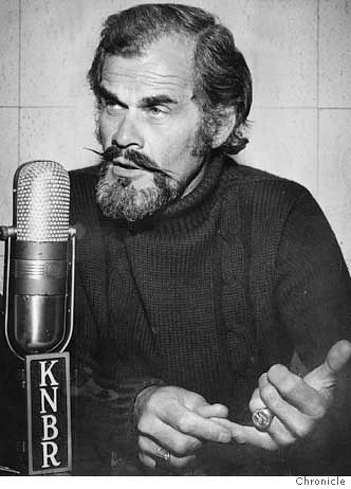 Bay Area Sportscaster Bill King died early Tuesday, Oct. 18, 2005, from complications following hip surgery. He was 78.