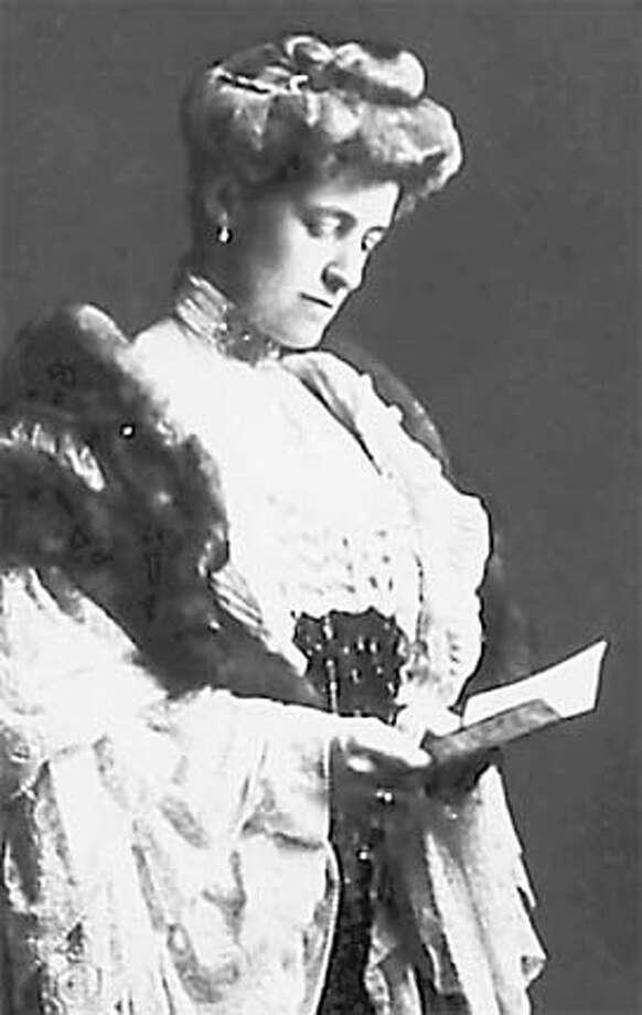 Edith Wharton, 1905.