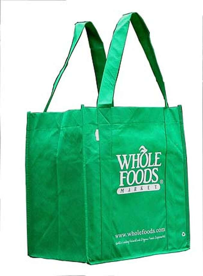 Reusable bags by Green Bag are sold by Whole Foods and other retailers.