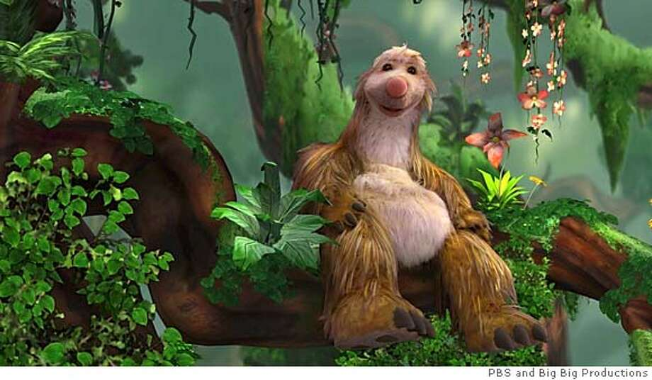 """PBS' newest puppet is Snook from """"A Big, Big World."""" Credit: Courtesy of PBS and Big Big Productions. Photo: PBS"""