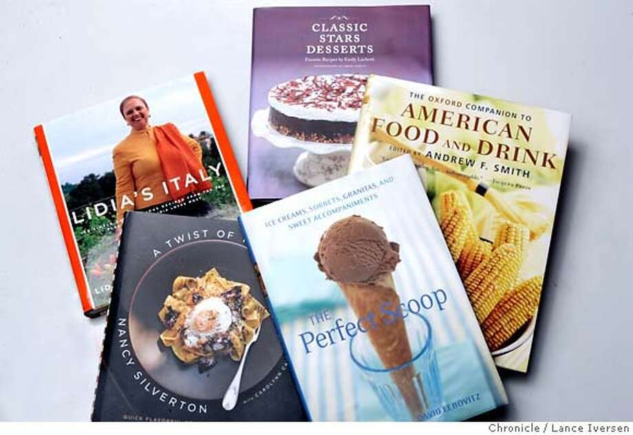 ROUNDUP18_21478.JPG  Roundup of Cookbooks (APRIL 12) (cq, subject) Photo By Lance Iversen / The Chronicle  Photo taken on 4/12/07, in SAN FRANCISCO, CA. MANDATORY CREDIT PHOTOG AND SAN FRANCISCO CHRONICLE/NO SALES MAGS OUT Photo: By Lance Iversen
