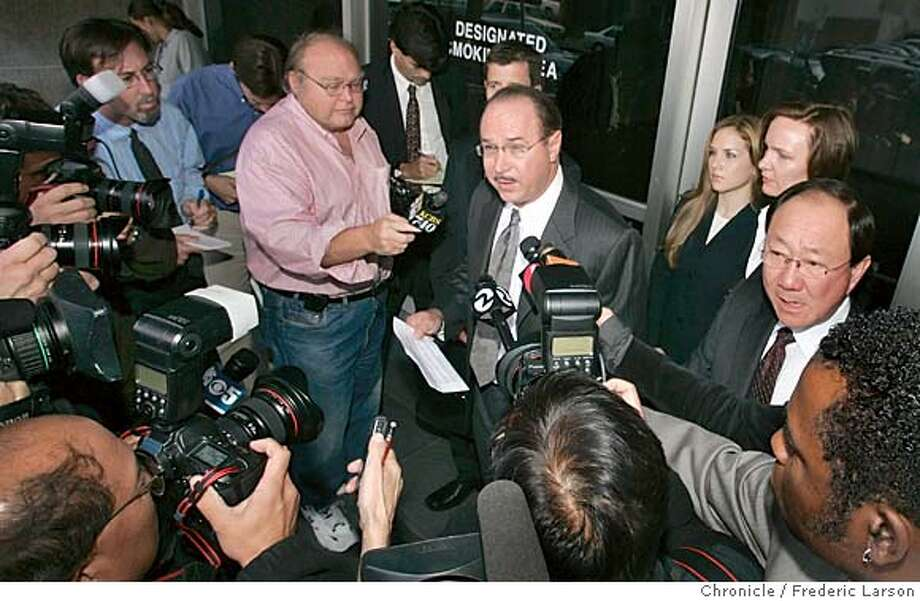 BALCO_0028_fl.jpg Victor Conti was sentence today10/18/05 San Francisco CA Frederic Larson The San Francisco Chronicle Photo: Frederic Larson
