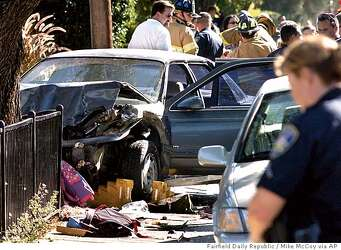 VACAVILLE / Crash kills 2 young schoolkids / Brother, sister