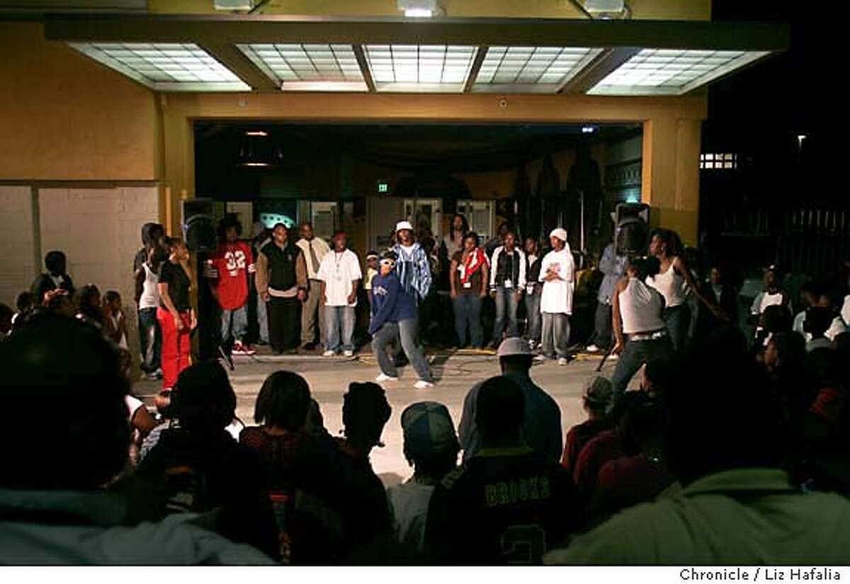 An East Oakland youth-run youth center called Youth Uprising features
