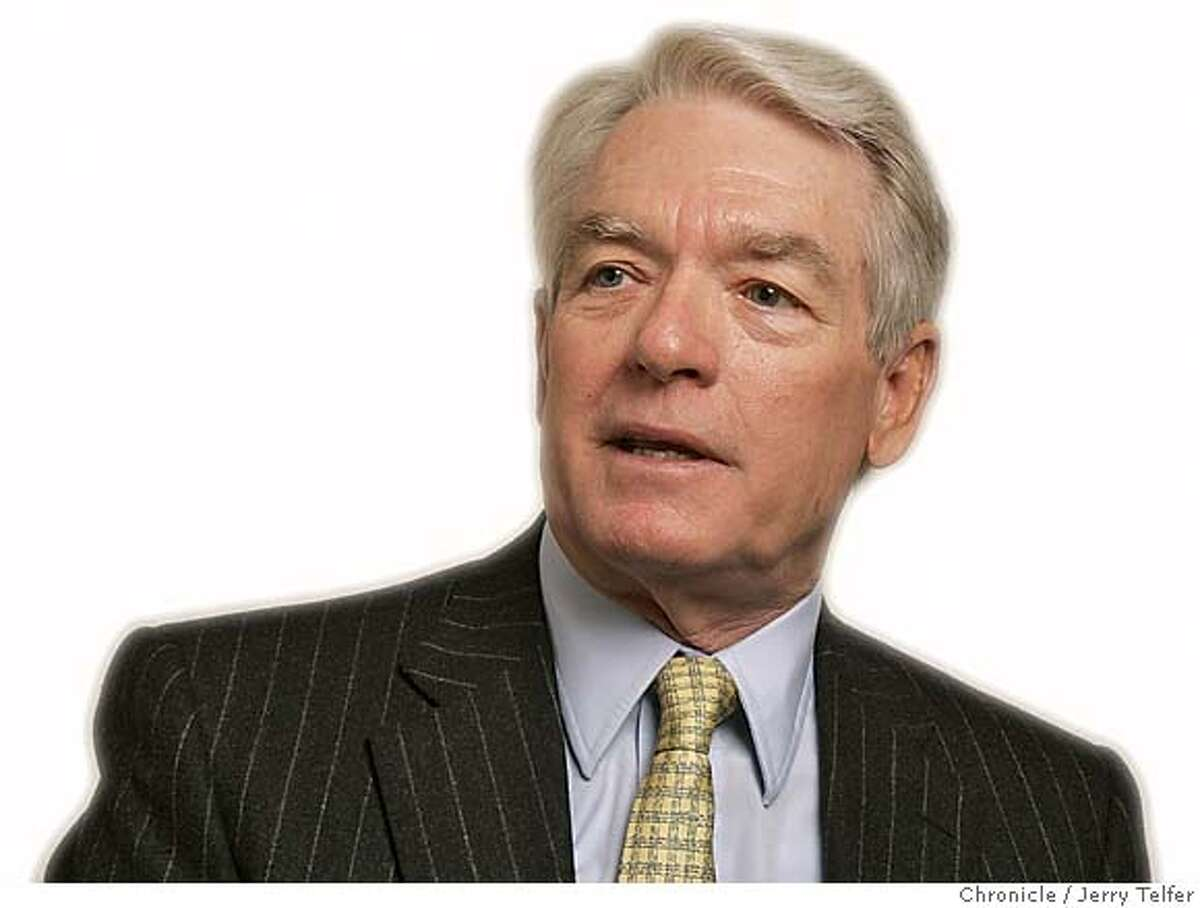 Event on 4/19/05 in San Francisco. Charles Schwab, financial guru. Chronicle photo by Jerry Telfer / The Chronicle