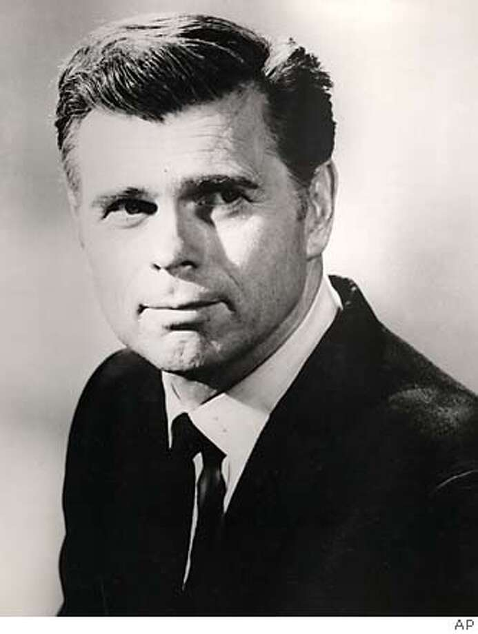 "**FILE**A file photo of Barry Nelson. The first actor to play James Bond onscreen has died. His wife says Barry Nelson died last Saturday while traveling in Pennsylvania. The cause of death was not immediately known. Nelson first played 0-0-7 in a one-hour T-V adaptation of ""Casino Royale"" in 1954, well before Sean Connery was tapped to play the British agent on the big screen in 1962's ""Dr. No."" (AP Photo/File) AP FILE PHOTO FROM 1970 Photo: AP"