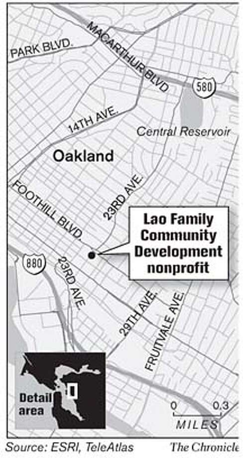 Leo Family Community Development Nonprofit. Chronicle Graphic