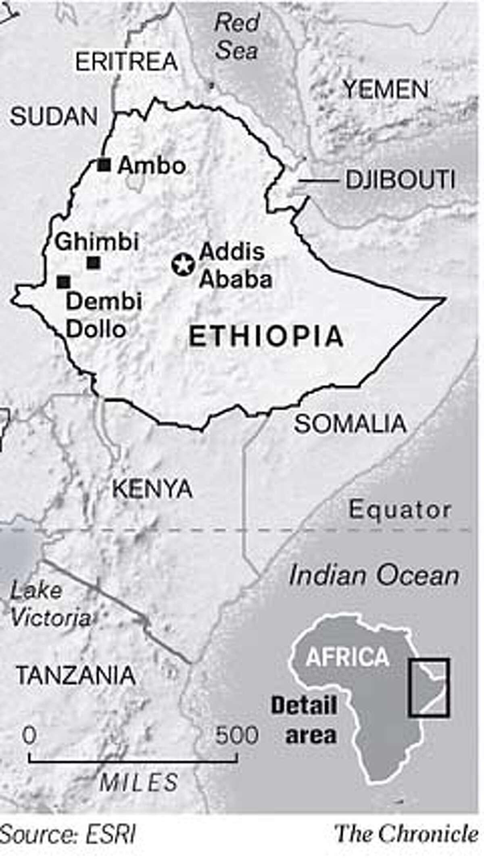 Ethiopia. Chronicle Graphic