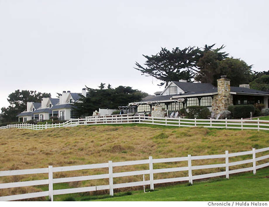 """Restaurant and guest """"cottages"""" at the Mission Ranch Inn in Carmel Photo credit: Hulda Nelson / The Chronicle Photo: Hulda Nelson"""