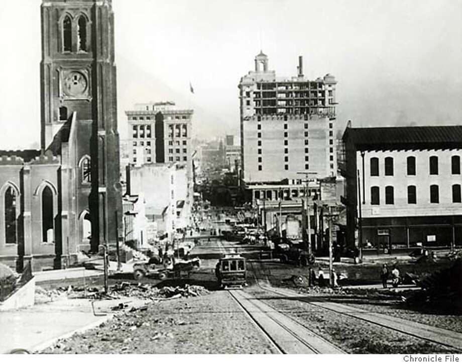 .jpg January 1907 - 4229 looking east on California Street handout/ handout Photo: Handout