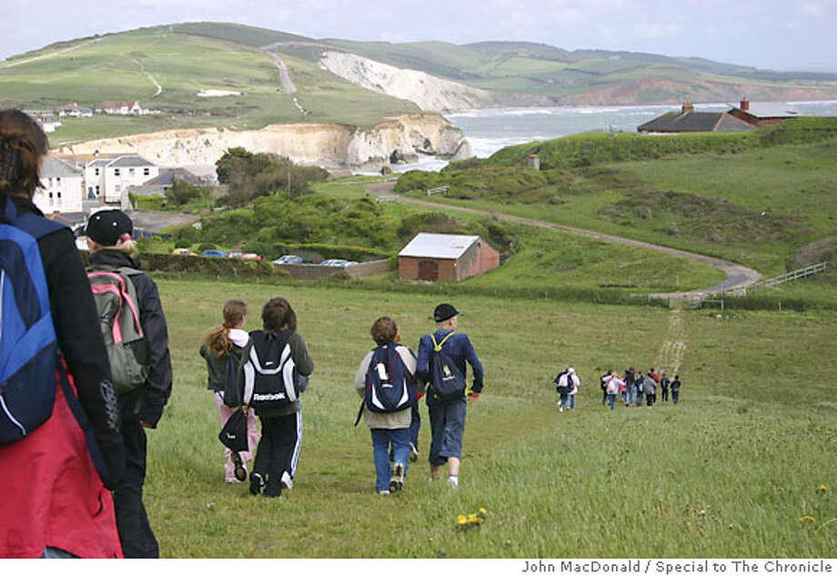 TRAVEL WIGHT -- Students out on a coastal walk on the southwest side of the island. Photo by John MacDonald/Special to the Chronicle Photo: John MacDonald