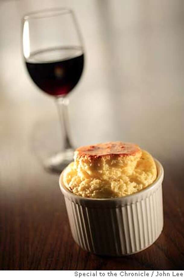 PAIRING13_02JOHNLEE.JPG  Pairings recipes. Blue Cheese Souffle and Smoked Gouda Souffle.  By JOHN LEE/SPECIAL TO THE CHRONICLE Photo: JOHN LEE