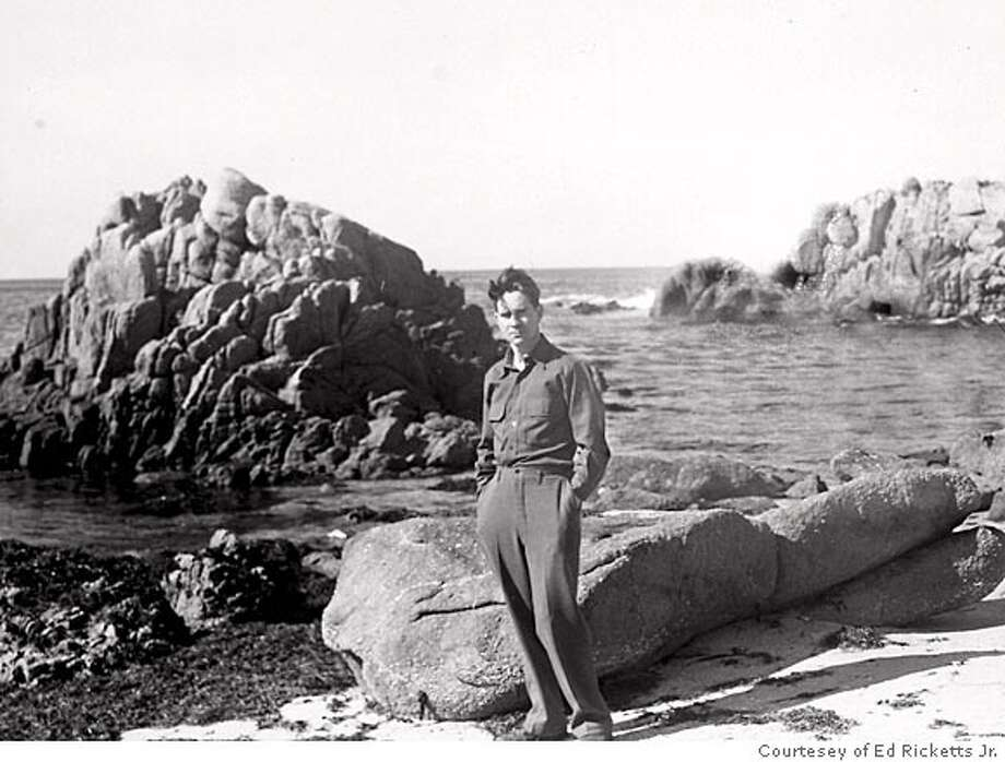 Ed Ricketts at the Monterey shore. Photo: Courtesey Of Ed Ricketts Jr.