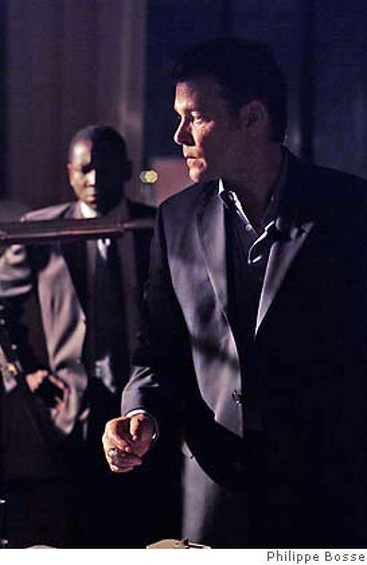 3. Ford Cole (Ray Liotta, foreground) in SLOW BURN. Photo credit: Philippe Bosse
