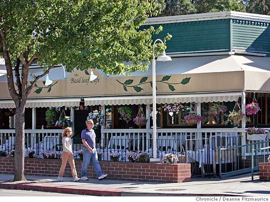 Exterior only requested of Danville restaurant, Basil Leaf Cafe.  Deanne Fitzmaurice / San Francisco Chronicle Photo: Deanne Fitzmaurice