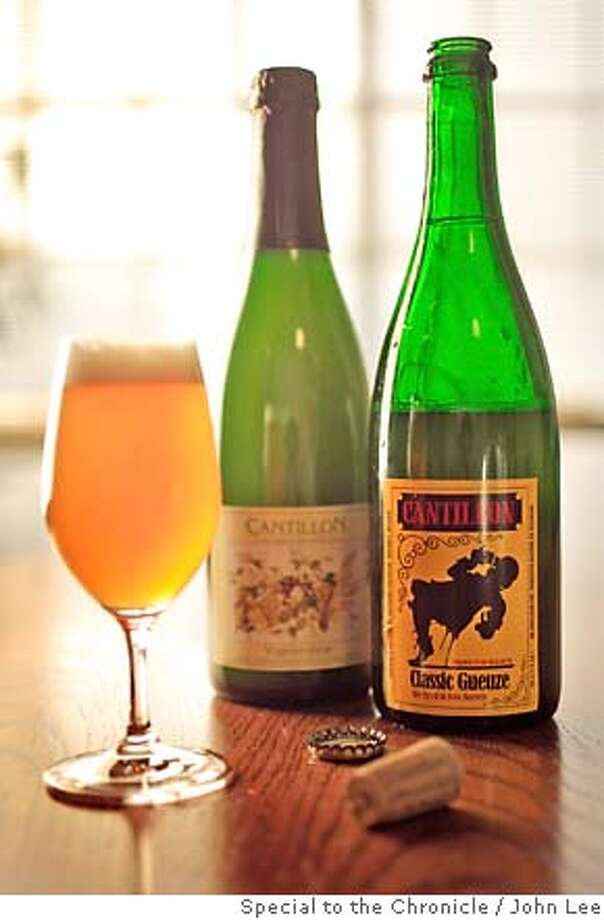 BEER13_04JOHNLEE.JPG  Bottles of Cantillon.  By JOHN LEE/SPECIAL TO THE CHRONICLE Photo: JOHN LEE