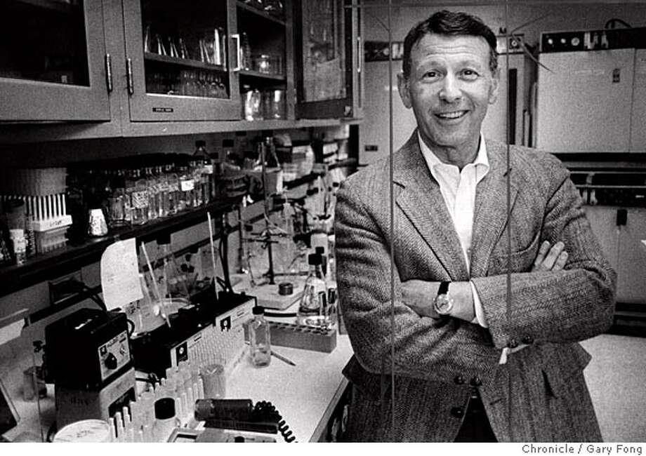 Paul Berg Nobel Prize winner, Stanford Genetics Professor. Gary Fong / 1980/ The Chronicle Photo: Gary Fong / 1980
