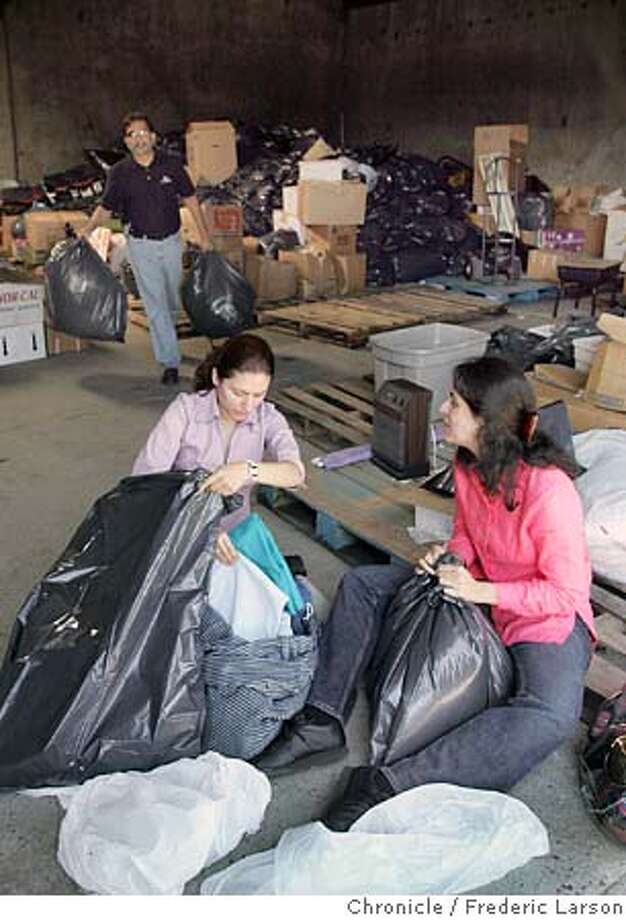 CHARITY_0096_fl.jpg Ayesha Aziz (pink right), Asiya Iqbal (purple center) and Imran Qureshi (black shirt man) volunteer to sort out tons of leaf bags full of clothing and other supplies that are piled up at the Hidaya Foundation in Milpitas. Nonprofits are raising money for relief efforts in Nonprofits are raising money for relief efforts in Pakistan following a devastating earthquake. But some are worried they won't raise enough money, because donors are tapped out from giving to hurricane and tsunami victims.  Hidaya Foundation in Santa Clara has raised $200K. And they are collecting coats, tents and other supplies at their warehouse in Milpitas 10/13/05 Milpitas CA Frederic Larson The San Francisco Chronicle Photo: Frederic Larson