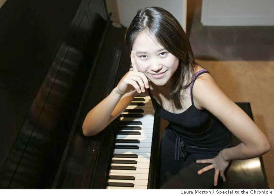 Yuja Wang is a 19-year-old pianist who lives in Philadelphia, PA. **NOTE: info in photo request about age and home was wrong. Also be sure to check age again because by the time of this publication her age could change. MANDATORY CREDIT FOR PHOTOGRAPHER AND SAN FRANCISCO CHRONICLE/NO SALES-MAGS OUT Photo: Laura Morton