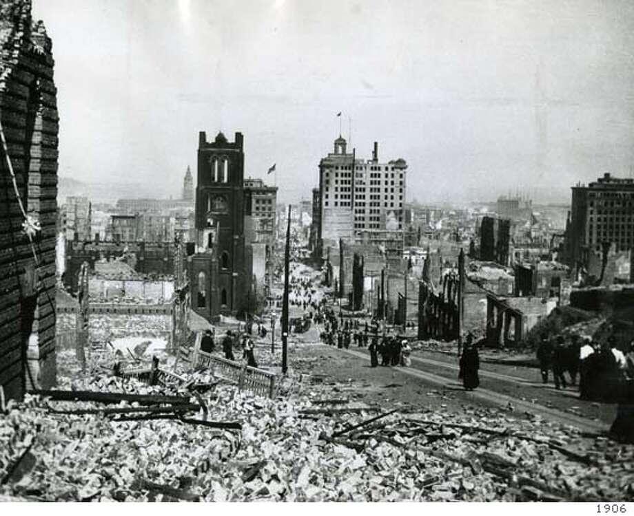1906 SF earthquake. No further caption info. Photo: X