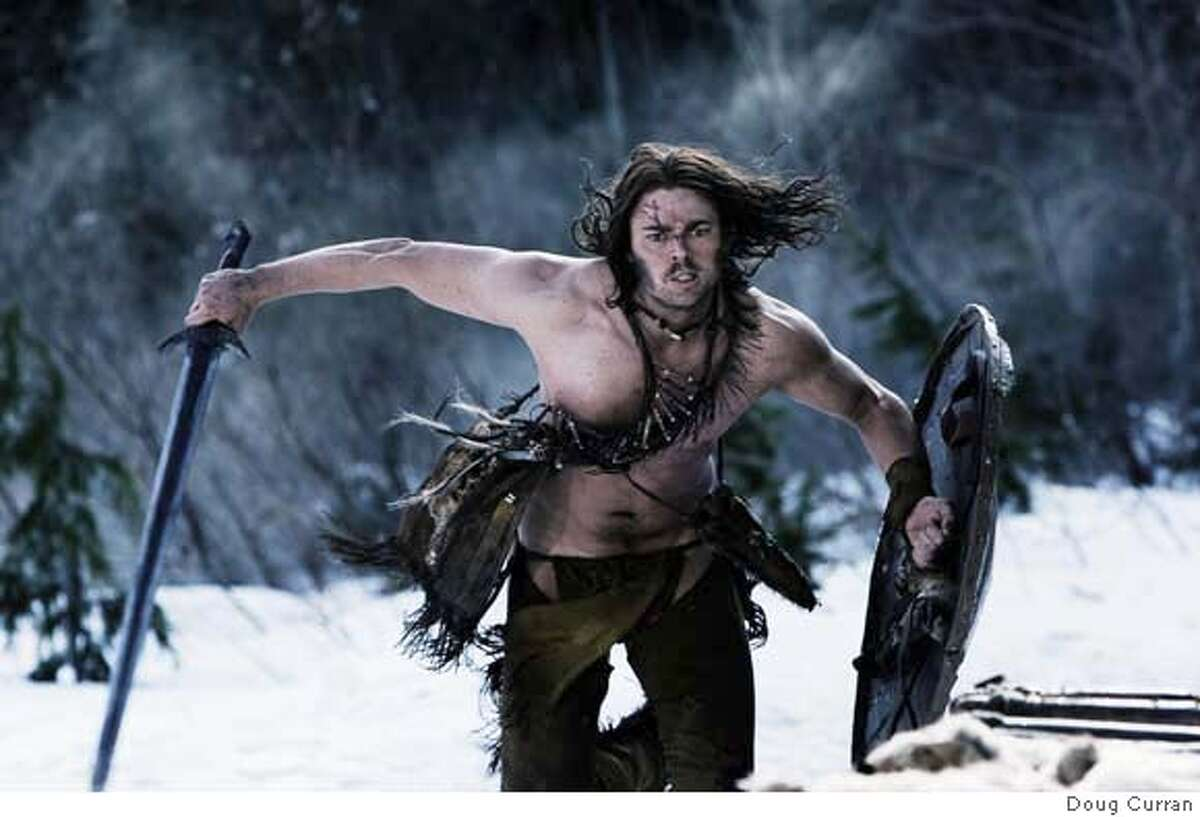 Ghost (Karl Urban) wages a one-man war against the Vikings and becomes his people's savior. Ghost (Karl Urban) wages a one-man war against the Vikings and becomes his people's savior. Photo Credit: Doug Curran