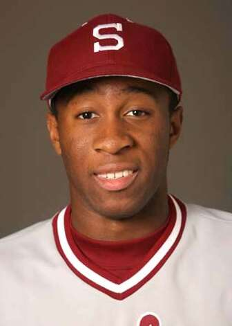 Stanford outfielder Wande Olabisi. Photo: David Gonzales