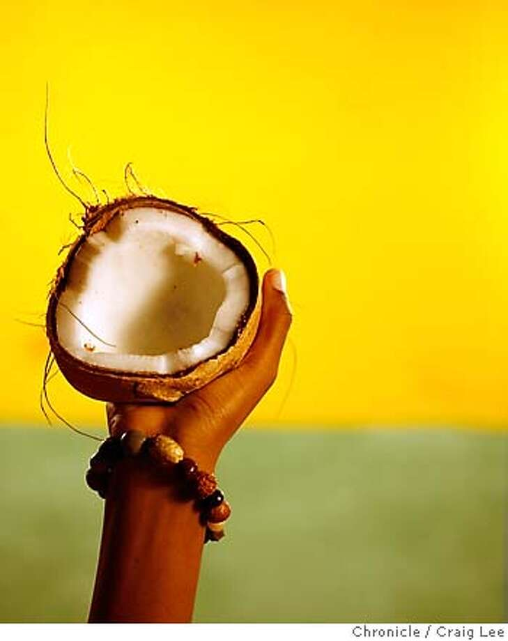 COCONUT11_286_cl.JPG  Photo for a coconut story in the Food section.  Event on 3/30/07 in San Francisco. photo by Craig Lee / The Chronicle MANDATORY CREDIT FOR PHOTOG AND SF CHRONICLE/NO SALES-MAGS OUT Photo: Photo By Craig Lee