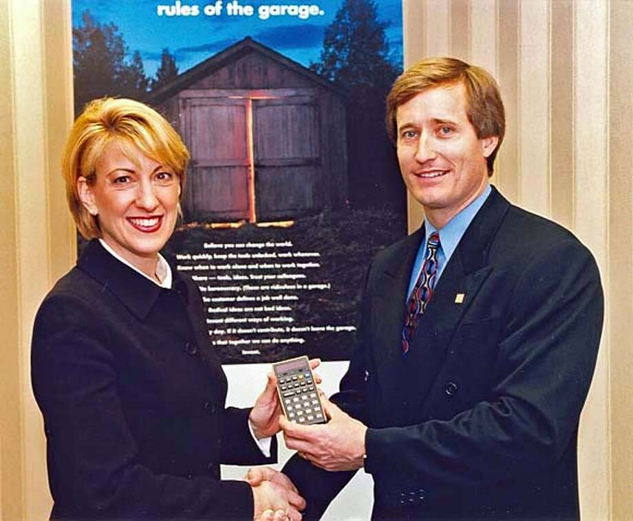 hpmuseum10  Carly and Jon Johnston in 2000, Photo: Unknown