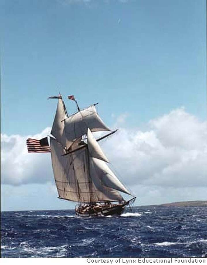 A tall ship, the privateer Lynx, will star at the Strictly Sail Pacific expo in Oakland next week. CREDIT: Courtesy of Lynx Educational Foundation Photo: Courtesy Of Lynx Educational Fou