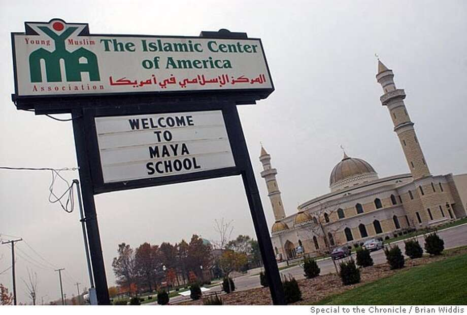 The newly constructed Islamic Center of America, in Dearborn, MI.special to Chronicle by Brian Widdis.