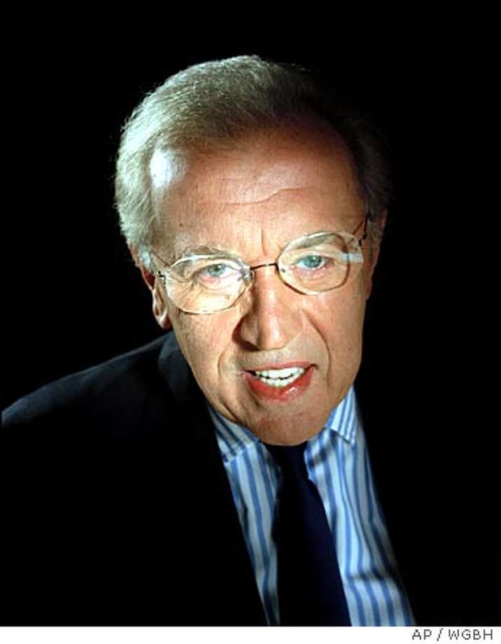"David Frost, host of ""The Strategic Humor Initiative,"" is shown in this undated publicity photo. The special is a multinational effort in lampooning politics, culture, business and celebrity _ wherever they rear their ugly heads. The half-hour special will originate jointly from England, Canada and the U.S., and be seen in those countries, too, with PBS airing it 9 p.m. EDT Tuesday (check local listings). (AP Photo/WGBH) Ran on: 10-08-2005  David Frost has signed on to do interviews for an English- language network run by Al-Jazeera. Photo: AP"