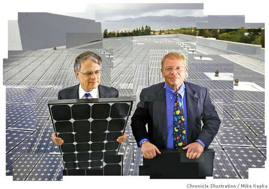 Dick Swanson, President and CTO of SunPower Corp. T.J. Rodgers, Founder, President and CEO of Cypress Semiconductor Corp. have been a driving force in the solar power industry. Chron 200 portaits 3/29/07.  MIKE KEPKA / The Chronicle Dick Swanson, President and CTO of SunPower Corp. (cq) their PR staff Photo: MIKE KEPKA