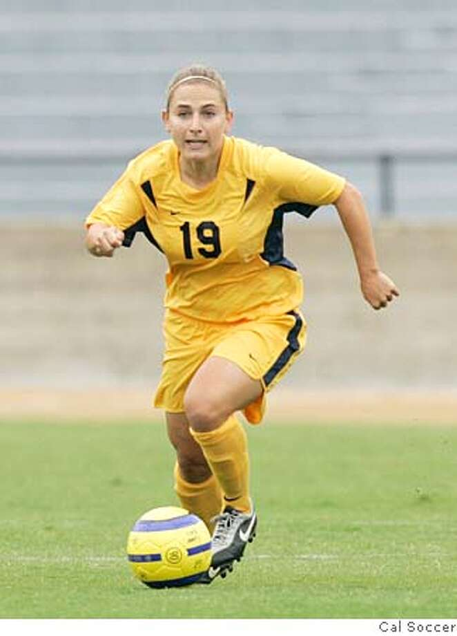 caption: Liz Eisenberg, Cal soccer, 2005  no credit/ handout Photo: No Credit