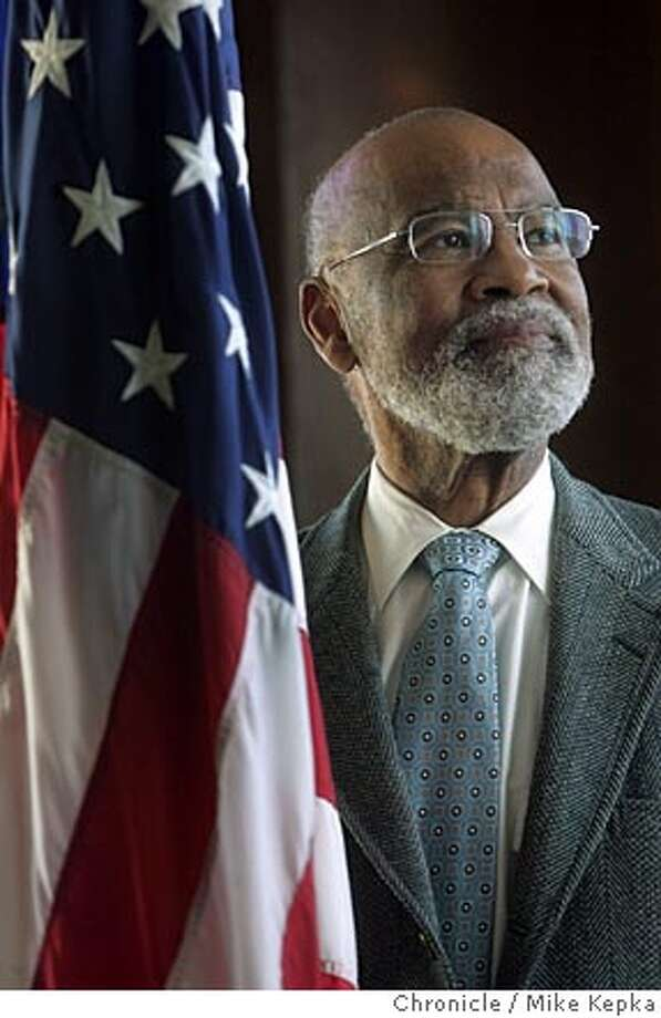 Judge Thelton Henderson is one of the best known, and perhaps one of the most controversial judges, in the state, striking down Proposition 187, the anti-affirmative action measure, lashing out at state officials over the treatment of prisoners and giving veterans suffering from Agent Orange the right to sue. But he also has a fascinating past as a justice department lawyer in the 1960s working with Martin Luther King Jr. and other civil rights giants. East Bay filmmaker Abby Ginzberg has spent the last two years working on a documentary on the judge which will be shown at the upcoming Mill Valley Film festival. 9/27/05 Mike Kepka / The Chronicle Photo: Mike Kepka