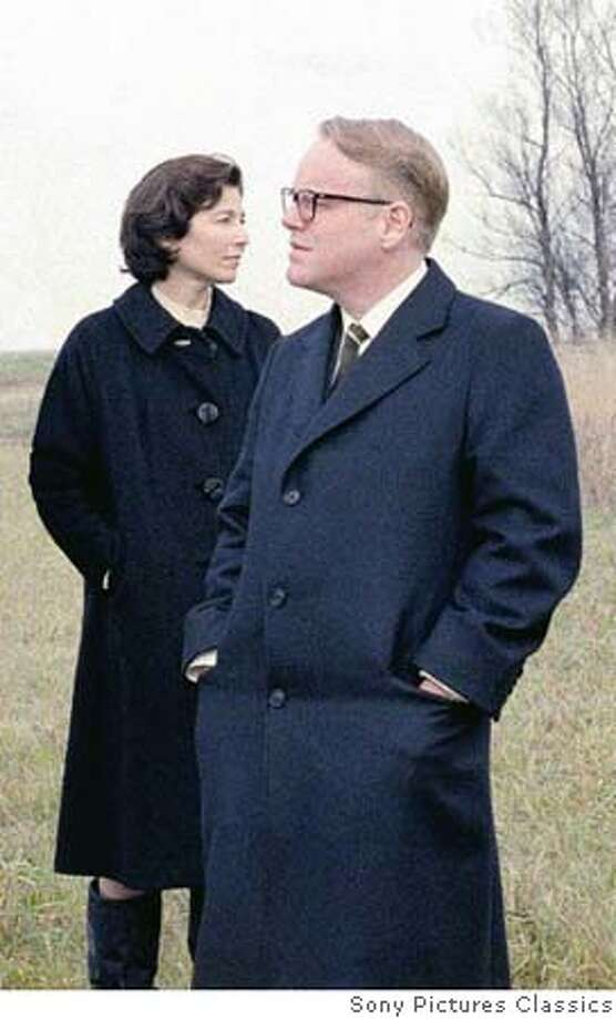 "Catherine Keener and Philip Seymour Hoffman in ""Capote."" Photo: Sony Pictures Classics"
