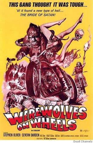 """Werewolves on Wheels"" will be shown as part of Sleazy Sundays. Credit: Dead Channels Photo: Dead Channels"