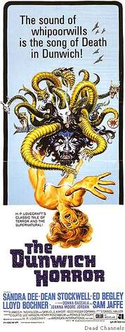 """The Dunwich Horror"" will be shown as part of Sleazy Sundays. Credit: Dead Channels Photo: Dead Channels"