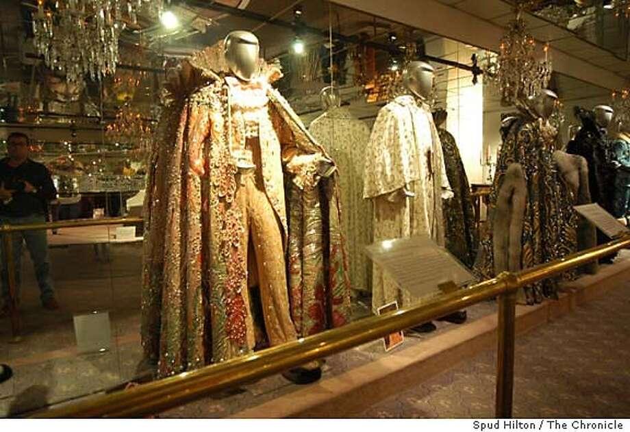 The Liberace Museum in Las Vegas. Las Vegas on 4/9/05.  Spud Hilton / The Chronicle Photo: Spud Hilton