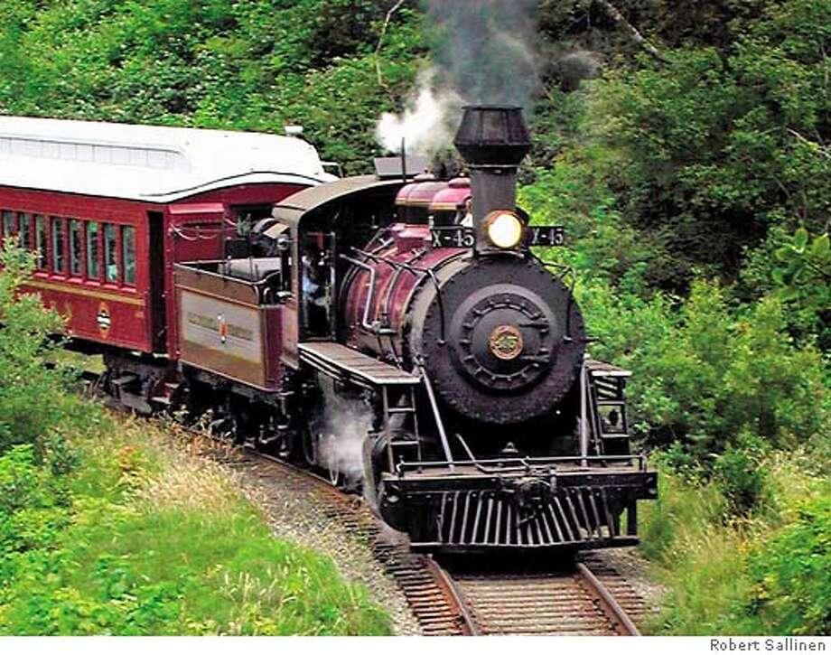 Skunk Train 1  Photo Credit: Robert Sallinen Photo: Robert Sallinen