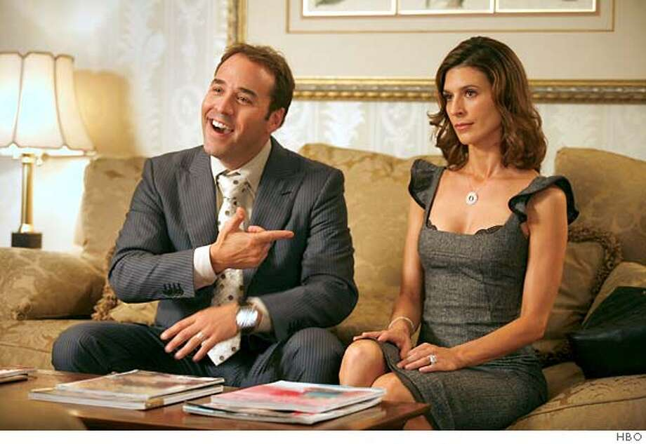 ENTOURAGE: Jeremy Piven, Perrey Reeves. photo: Claudette Barius Photo: Ho