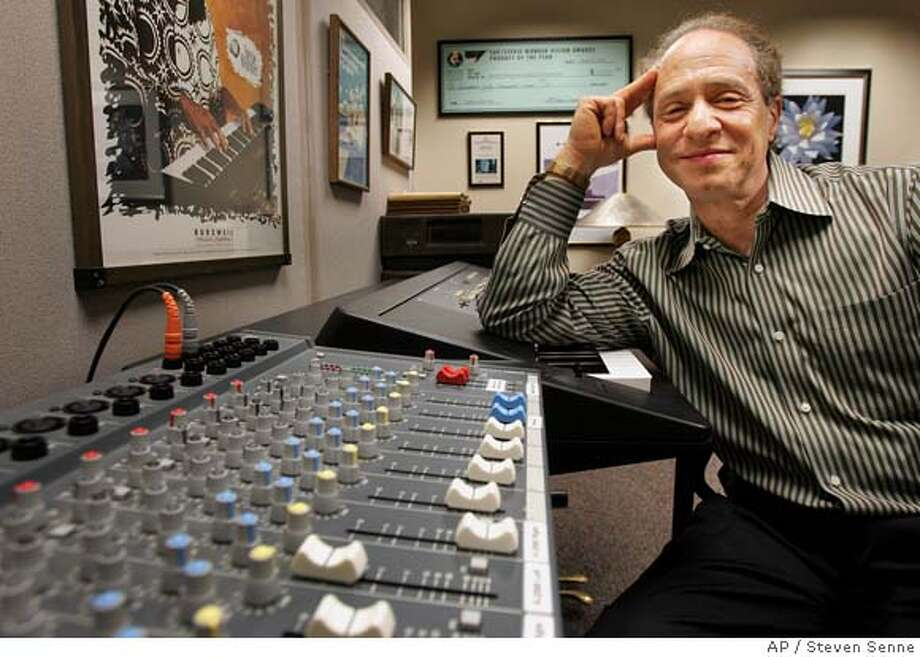 "** ADVANCE FOR SUNDAY, FEB. 13 ** Author and inventor Ray Kurzweil, 56, sits in front of a music mixing board in his office, in Wellesley, Mass., Jan. 12, 2005. Kurzweil is serious about his health because if it fails him, he might not live long enough to see humanity achieve immortality, a seismic development he predicts is possible in his new book; ""Fantastic Voyage: Live Long Enough to Live Forever."" (AP Photo/Steven Senne) Ran on: 02-20-2005  Ray Kurzweil, a highly acclaimed inventor, speaks of immortality as though it's a done deal. ADVANCE FOR SUNDAY FEB 13 Photo: STEVEN SENNE"
