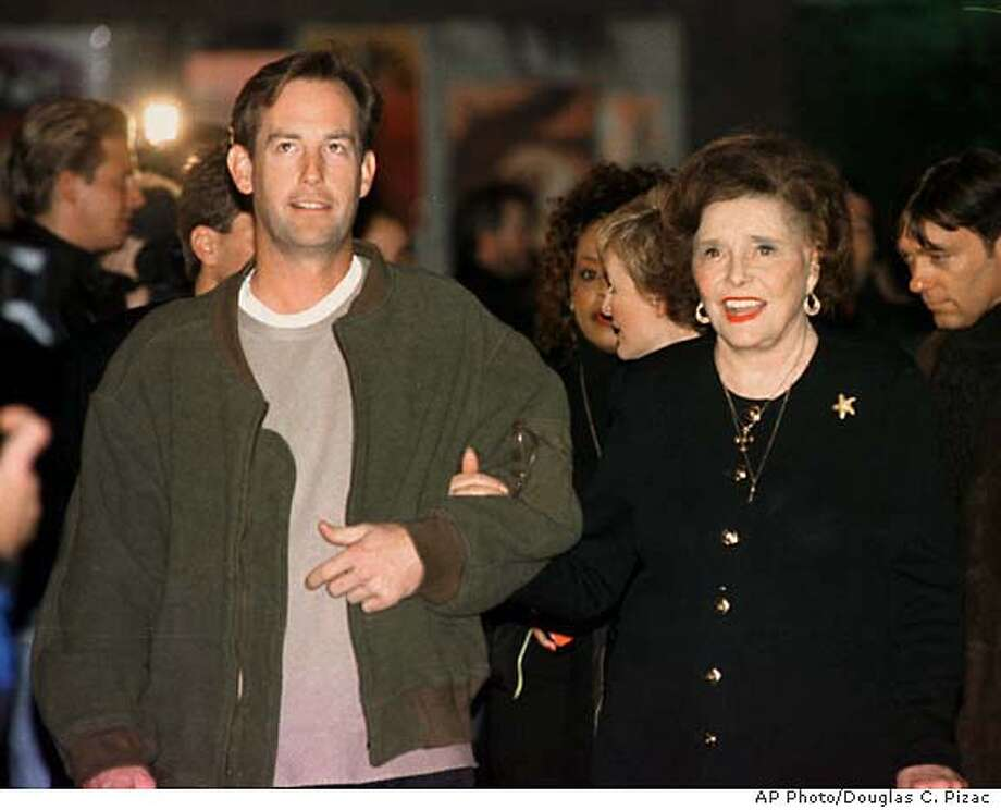 "Veteran actress Patricia Neal arrives for the premiere of her new film, ""Cookie's Fortune,"" Thursday, Jan. 21, 1999, in Salt Lake City as part of the Sundance Film Festival. (AP Photo/Douglas C. Pizac) Photo: DOUGLAS C. PIZAC"