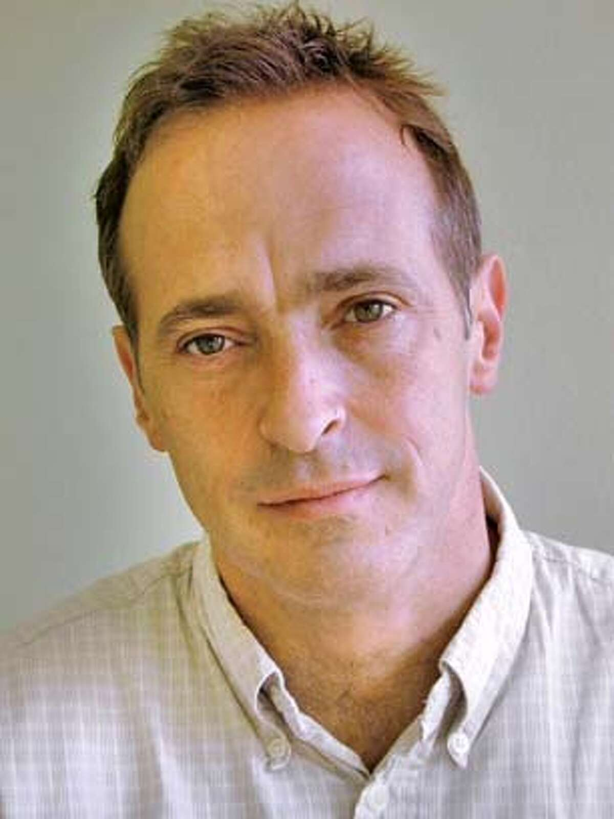 � DAVID SEDARIS.JPG David Sedaris, NPR commentator and best-selling author, returns to Zellerbach Hall to read from his latest book, Dress Your Family in Corduroy and Denim, as well as from new work in progress, part of Cal Performances� Strictly Speaking series, November 9. HO MANDATORY CREDIT FOR PHOTOG AND SF CHRONICLE/NO SALES-MAGS OUT