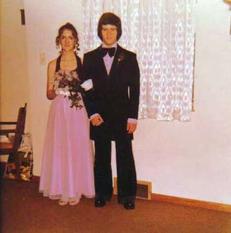 Tom Paterra escorted Palfrey to his senior prom, when she was a junior, at Charleroi Area High in Pennsylvania. Photo courtesy of Tom Paterra
