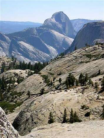 OVERLOOK01_PH2.JPG View of Half Dome fr Olmsted Point by The Yosemite Fund. handout/ handout Photo: Handout