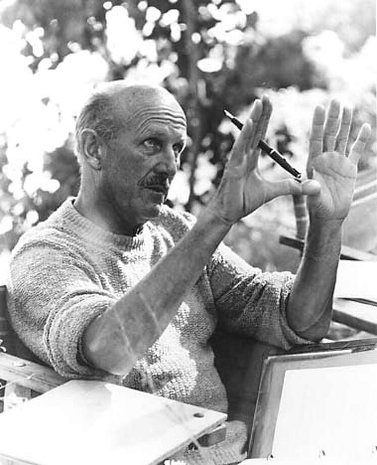 Michael Powell directing Age of Consent (1969) Photo: .