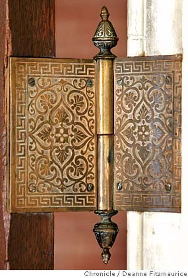 mint_012_df.JPG  The building is rich with details such as this door hinge. The old Mint at 5th Street and Mission will be turned into the San Francisco Museum and Historical Society.  Deanne Fitzmaurice / San Francisco Chronicle Photo: Deanne Fitzmaurice
