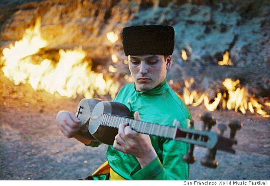 Musicians from around the world are performing Sunday night as part of the San Francisco World Music Festival's Nowruz Project. Nowruz is a celebration of spring that's rooted in ancient times. credit: the San Francisco World Music Festival Photo: X