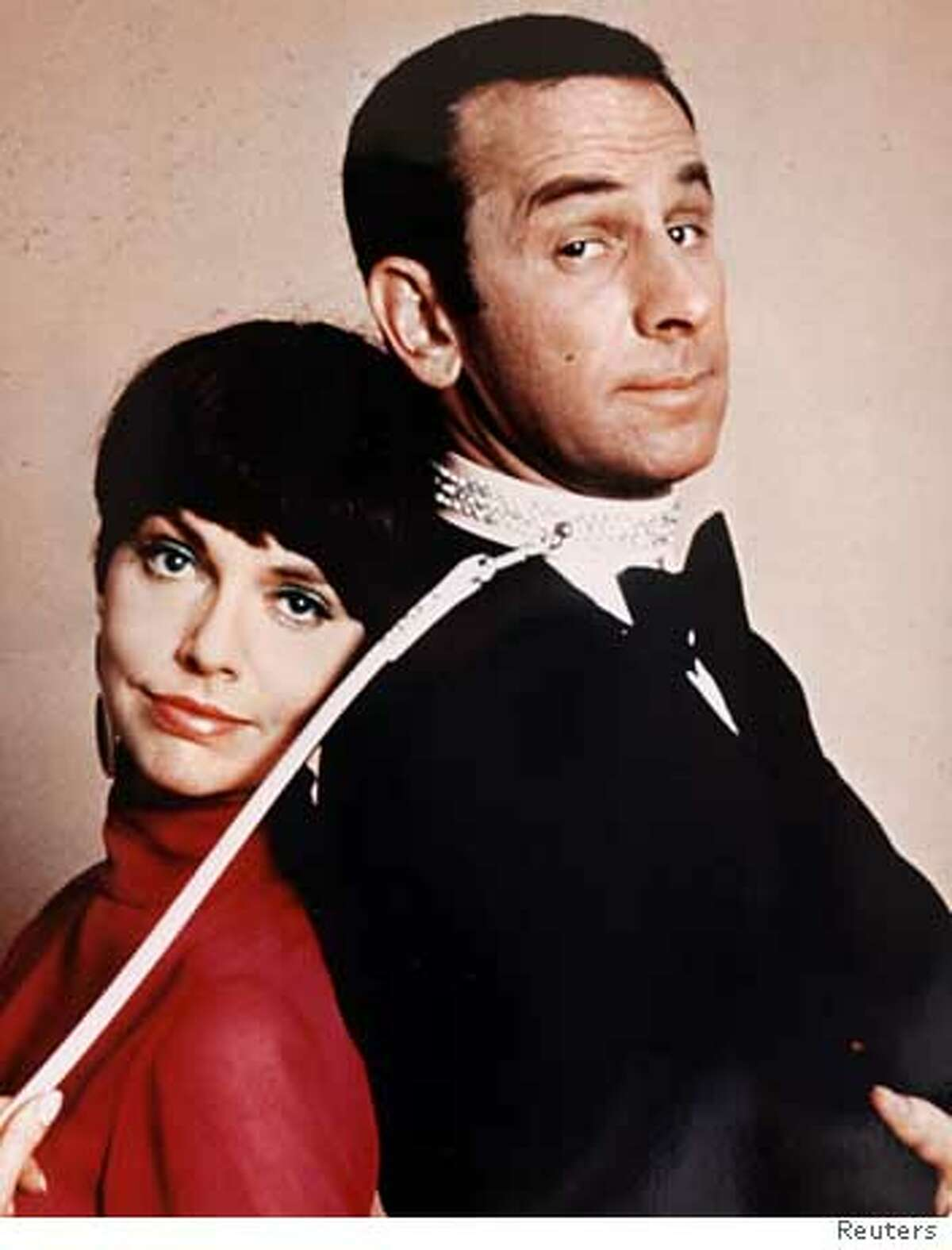 """Actor Don Adams (R) and co-star Barbara Feldon from the television show """"Get Smart"""" are seen in this file publicity picture from 1966. Adams, best known for his role as clumsy secret agent Maxwell Smart in the 1960s television comedy, has died of a lung infection, his agent said on Septenber 26, 2005. Adams, who had been in failing health in recent years, died at Cedars Sinai hospital in Los Angeles on Sunday night, according to agent Bruce Tufeld. NO ARCHIVES REUTERS/Files Ran on: 09-27-2005 Don Adams and Barbara Feldon were an immediate hit when Get Smart premiered in 1965."""