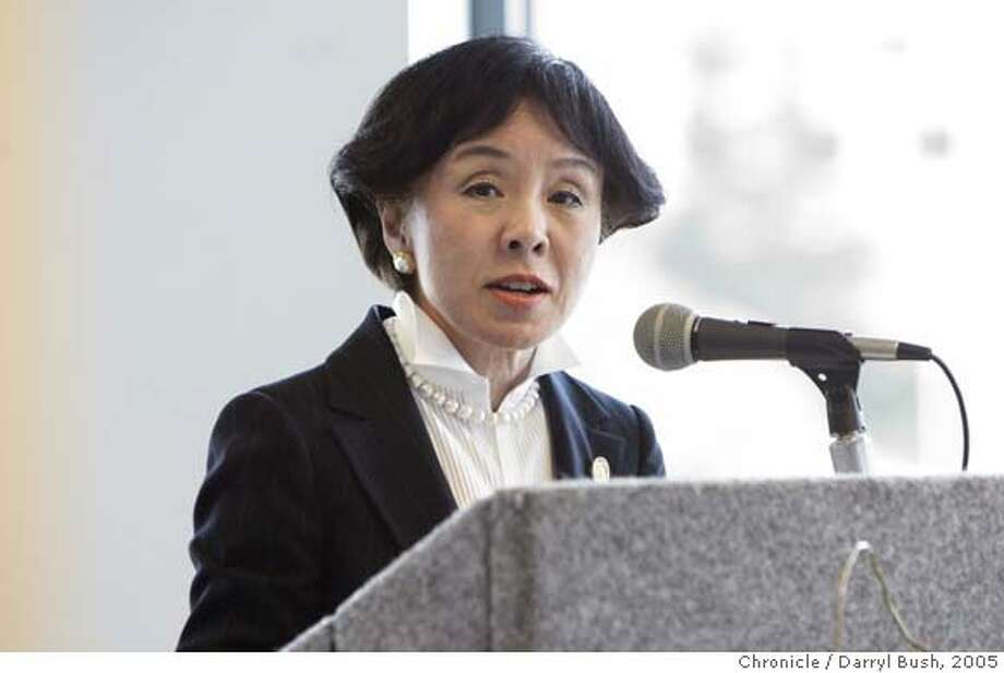 stemcells_sacto_017_db.jpg  Congresswoman Doris Matsui welcomes ICOC subcommittee members to their proposed site for CIRM located at One Capital Mall. Sacramento gives it's pitch to the important people who decide on what city will be chosen as the site for the California Institute for Regenerative Medicine This if for stem cell research.  Event on 4/30/05 in Sacramento.  Darryl Bush / The Chronicle MANDATORY CREDIT FOR PHOTOG AND SF CHRONICLE/NO SALES-MAGS OUT Photo: Darryl Bush